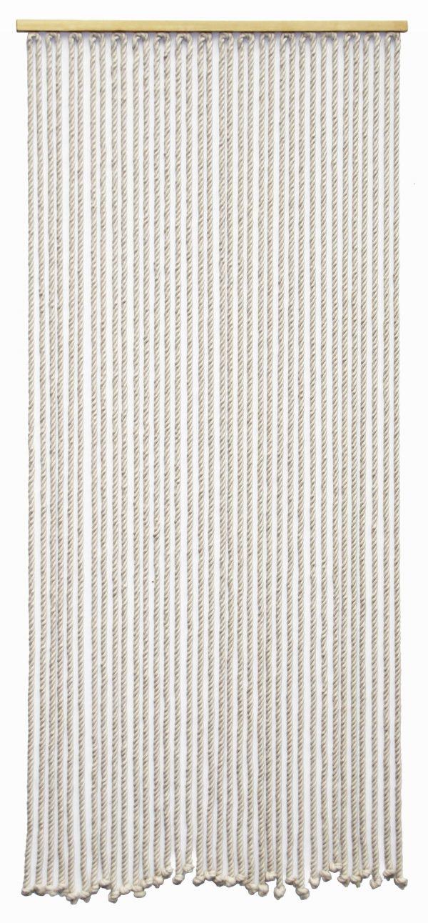 Door curtain white