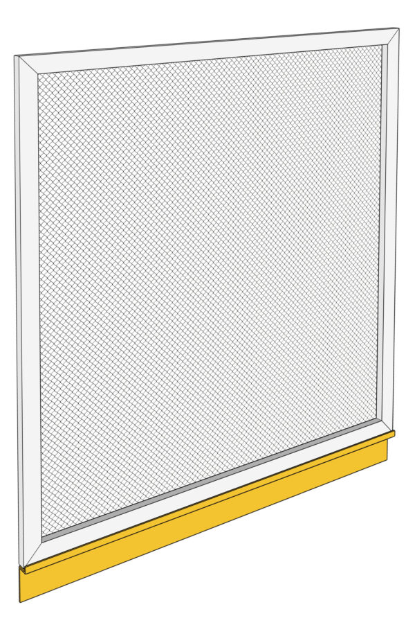 Sill section white