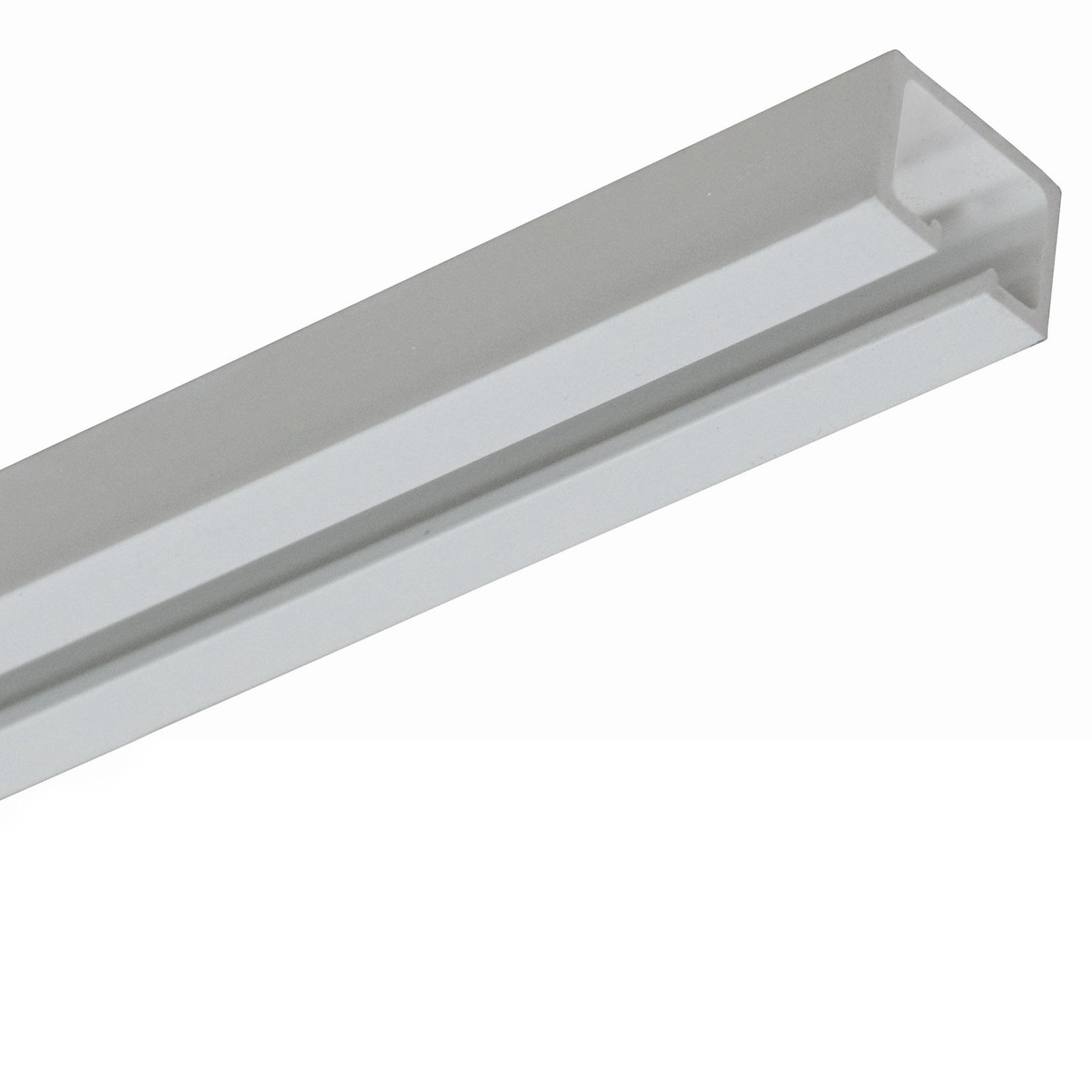 PVC concertina door san marino white oak headrail