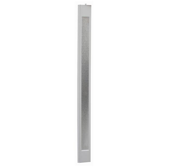 PVC concertina platinum door panel