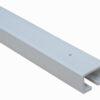 PVC door concertina platinum headrail