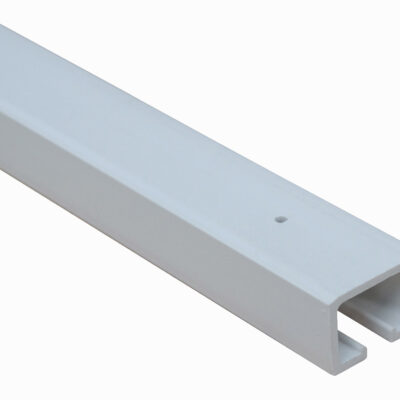 PVC door concertina platinum headrail