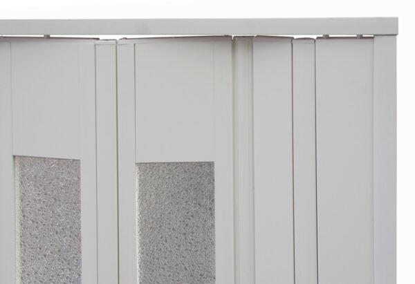 PVC concertina platinum door