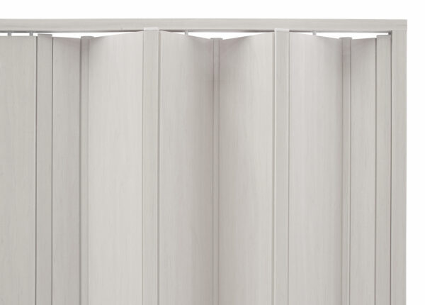PVC concertina door san marino white oak