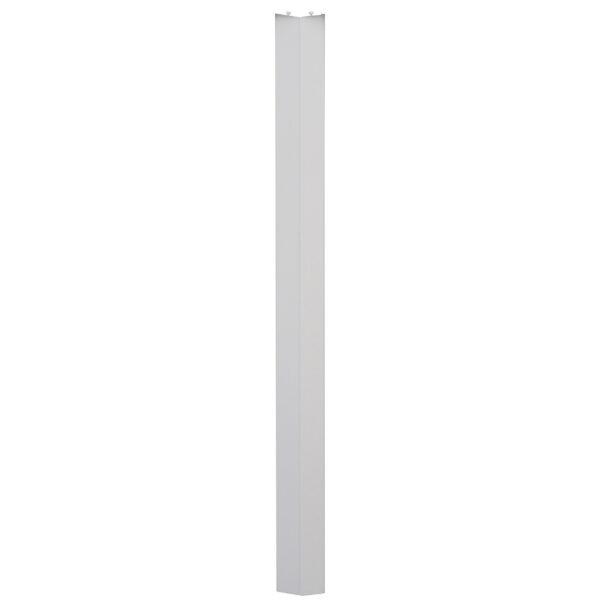 PVC concertina door san marino white oak panels
