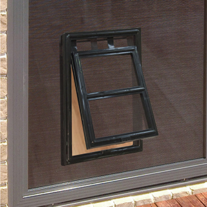 Flyscreen Pet Door